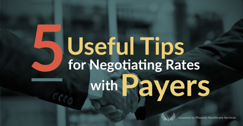 5 Useful tips for negotiating with Payers